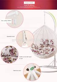 Swingasan Cushion by Oudoor Swingasan Chair Pe Rattan Hanging Chair Buy Ourdoor
