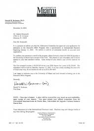 Mba Recommendation Letter Template by Letter For Mba Acceptance