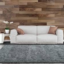 lanart soft touch shag grey 7 ft x 10 ft area rug softt710gy