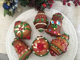 cookies 3d ornament tea cakes decorated to your liking