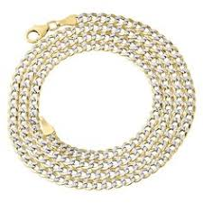 14k Solid White Gold 1 5 Mm Round Cable Chain Necklace 16 Quot 10k Yellow Gold 1 8mm 8mm Mens Womens Hollow Diamond Cut