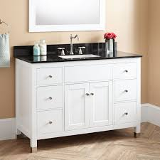 48 White Bathroom Vanity 48