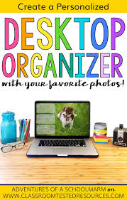 Personalized Desk Organizer by Diy Personalized Photo Desktop Organizer Classroom Tested Resources