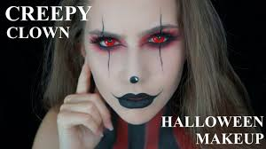 Halloween Makeup Clown Faces by Creepy Clown Halloween Makeup Tutorial Halloween Series 2016 2