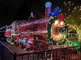 christmas lights train ride 360º video holiday lights train ride youtube