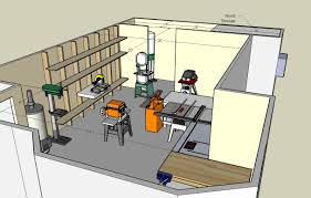 blueprints garage workshop plans work table building house plans woodshop layout plans diy small wood desk
