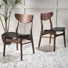 Scandanvian Design Durham Scandinavian Design Dining Chairs Set Of 2 U2013 Noble House