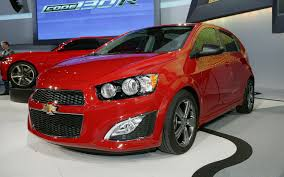 2013 chevrolet sonic rs first look motor trend