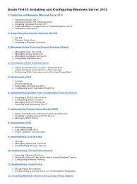 mcsa syllabus group policy active directory