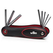 wilko folding hex key set 8 piece at wilko com