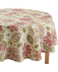 don t miss this bargain croscill tessa 70 inch tablecloth