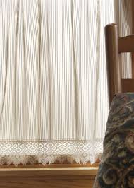 Heritage Lace Shower Curtains by Lace Panels Pine Hill Collections