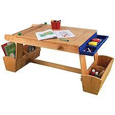 kids art table with storage kids art table amazon com