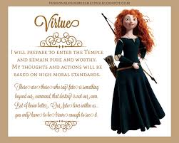 young women u0027s values with disney princesses virtue virtue