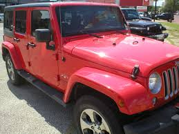 jeep sahara red denison car dealer sherman tx u0026 denison used cars fred pilkilton