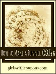 watch a funnel cake being made you can do this easily too my