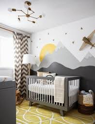 idée chambre bébé chambre bebe garcon top dco mur chambre bb papier peint garcon idee