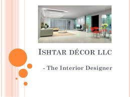 ishtaar decor interior design company dubai