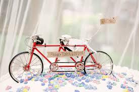 bicycle cake topper a whimsical diy bike themed wedding by ardita kola wedding party