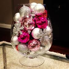 wine glass christmas ornaments the 25 best pink christmas decorations ideas on pink