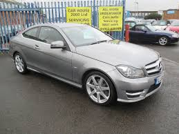 mercedes c220 cdi amg sport used mercedes c class coupe 2 1 c220 cdi blueefficiency amg
