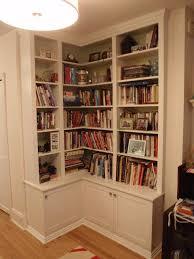 Woodworking Plans Corner Bookshelf by Best 25 Corner Bookshelves Ideas On Pinterest Building