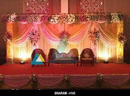 Wedding Reception Stage Decoration Images Budget Wedding And Reception Decoration Models Ideas Sigaram