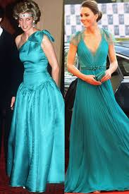 princess diana and kate middleton have the same style kate