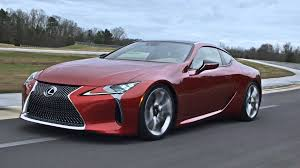 lexus lc 500 review motor trend lexus lc500 coupe on the road youtube