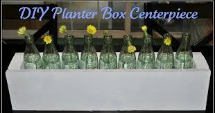 life with 4 boys re purposed diy planter box centerpiece