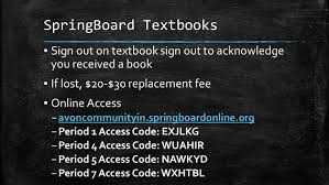 lesson 4 springboard lesson goals look through and understand