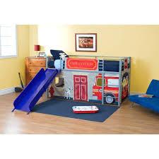 Childrens Bunk Bed With Slide Loft Beds Boy Loft Bed With Slide Beds Childrens Boy Loft Bed
