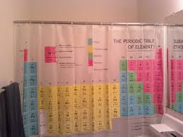 Periodic Table Shower Curtain Big Bang Theory Check Out My New Shower Curtain Pics