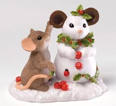 Christmas Mice Decorations 394 Best Charming Tails Figurines Images On Pinterest Figurines