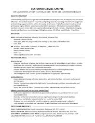 customer service resume resume sles better written resumes