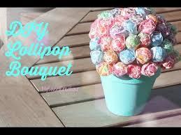 lollipop bouquet diy gift idea diy lollipop bouquet