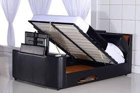 Tv Bed Frames 8 Best Tv Beds With Built In Tvs Qosy Tv Storage Bed Frame Duque Inn