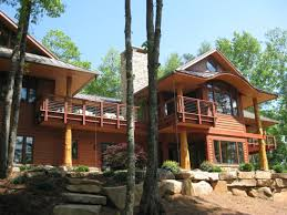 n c mountain lake house fine homebuilding