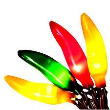 shop living 50 count 12 25 ft constant multicolor chili