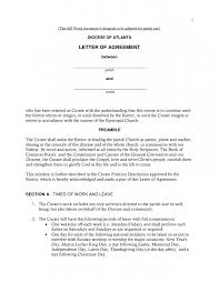 cover letter employment agreement cover letter sample
