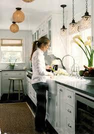 kitchen lighting over sink light elliptical white mid century