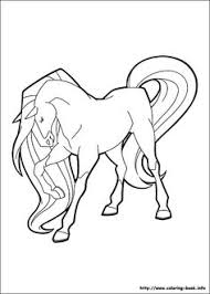 scarlet long mane horseland coloring pages coloring pages