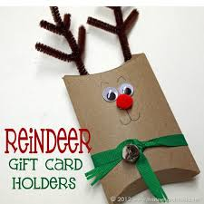 christmas gift card boxes reindeer gift card holders that s what che said