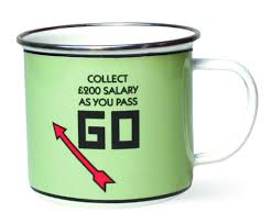 coffee mugs tea cups monopoly funny mugs cute pass go 15oz