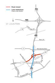 stl metro map hwy 100 project mndot