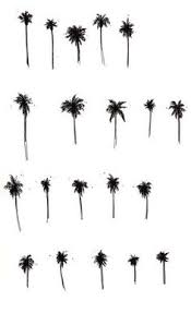 California Cool Scents Tropicana Free 1pc Palm Hang Outs Aroma Rand modern palm tree print digital instant three