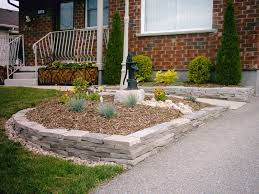raised flower beds wood fence fences decorative bed home garden