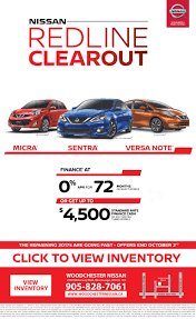 nissan canada finance mississauga canada equipped sales event