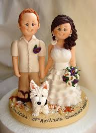 customized cake toppers customized wedding cake toppers and groom wedding