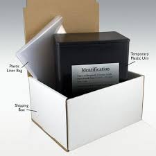 cremation boxes temporary cremation urn package airplane safe